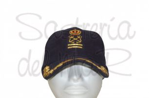 Gorra laureles Patrón de Yate color azul