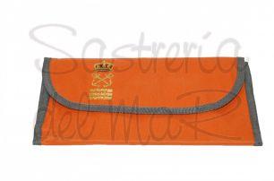 Portadocumentos naranja Capitán de Yate