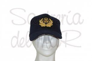 Gorra azul Capitán de Marina Mercante