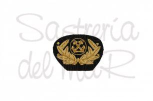Escudo Capitán de Marina Mercante bordado a mano
