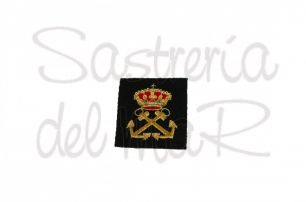 Escudo Patrón de Yate bordado a mano
