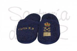 Zapatillas azul marino Capitán de yate