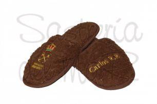 Zapatillas marrón Patrón de yate