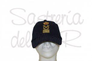 Gorra azul marino Capitán de Yate