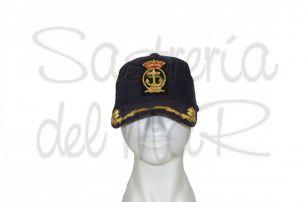 Gorra laureles azul Real Liga Naval Española