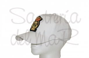 Gorra blanca Real Liga Naval Española
