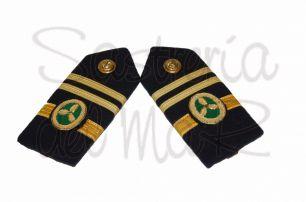 Palas rígidas 1er oficial S/T de Jefe ( Marina Mercante )