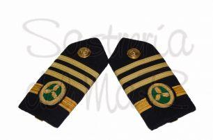 Palas rígidas 1er oficial C/M de Jefe ( Marina Mercante )