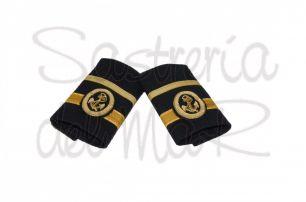 Manguitos 2º oficial S/T  de Capitán (Marina Mercante)