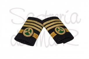 Manguitos 1er oficial C/M  de Jefe (Marina Mercante)