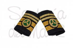 Manguitos 1er oficial C/T  de Jefe (Marina Mercante)