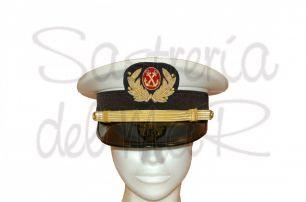 Gorra de plato Médico de Marina Mercante ( modelo Armada )